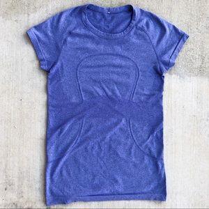 Lululemon Swiftly Tech Short Sleeve Tee Blue Sz 8